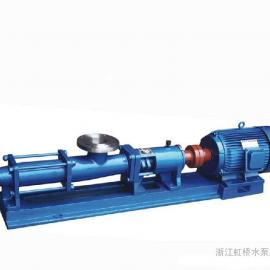 G50-1单螺杆泵、G系列单螺杆泵、专业螺杆泵厂家