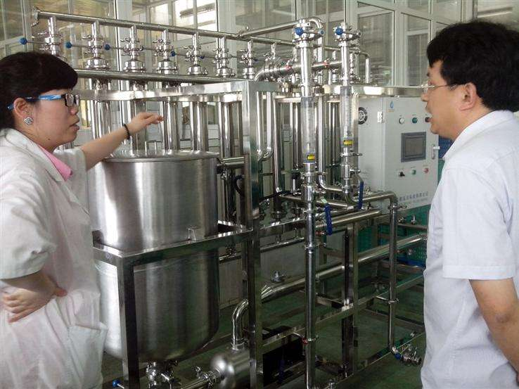茄尼醇提纯工艺设备