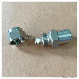 不锈钢快拧直通焊接接头/快拧直通终端304接头
