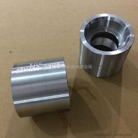 不锈钢高压管箍/304承插焊套管/焊接直管接头