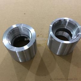 不锈钢高压直接头/一端内丝一端插焊套管接头/非标管件定制