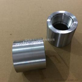 不锈钢高压内丝接头/螺纹套管接头/高压管箍