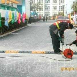 深圳福永街道专业供安全道路铁质减速带厂家