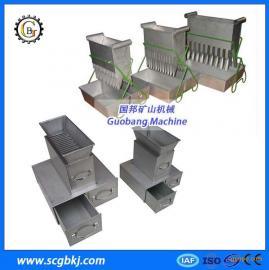 槽式二分器 密封式不锈钢槽式二分器 煤样缩分二分器