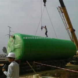 伊宁玻璃钢化粪池隔油池厂