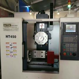浙江小型钻攻中心HT450 实用经济型高速高刚性加工中心