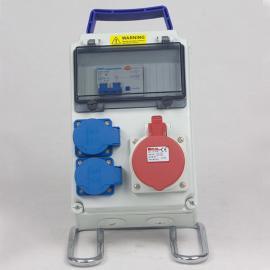 PC塑料手柄电源箱 手提式组合插座箱