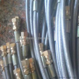 厂家生产【防腐四氟波纹管】【铁氟龙管总成】规格接头形式定制