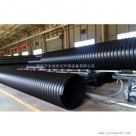 深圳HDPE缠绕增强B型结构壁管