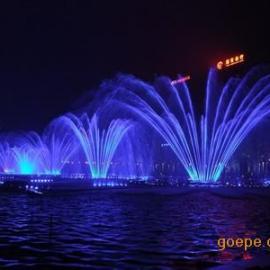 喷泉水景 景观设计 喷泉公司 湖面喷泉