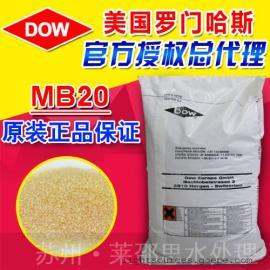 美国罗门哈斯树脂型号MB20阴阳离子混合交换树脂