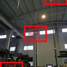 车载避雷针升降杆 移动式升降避雷厂家