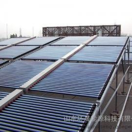 空气能与太阳能结合|山东环晟热水工程
