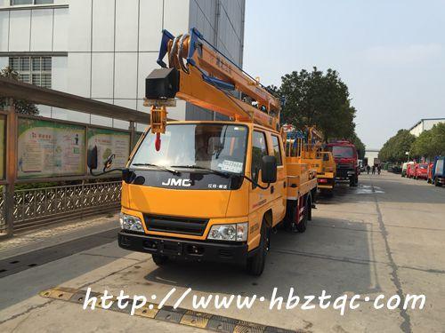 国五江铃16米高空作业车
