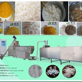 营养米加工设备、冲泡米生产设备