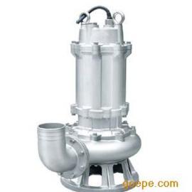 WQ不锈钢潜水泵 污水泵 不锈钢潜水排污泵