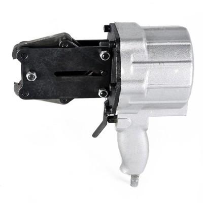 小型半自动手持手提带扣式分体式铁皮钢带拉紧锁扣气动打包机