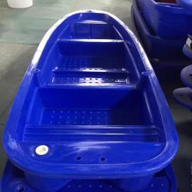 3.3米滚塑塑料养殖渔船 高强度牛筋塑料观光船 水库鱼塘漂流船