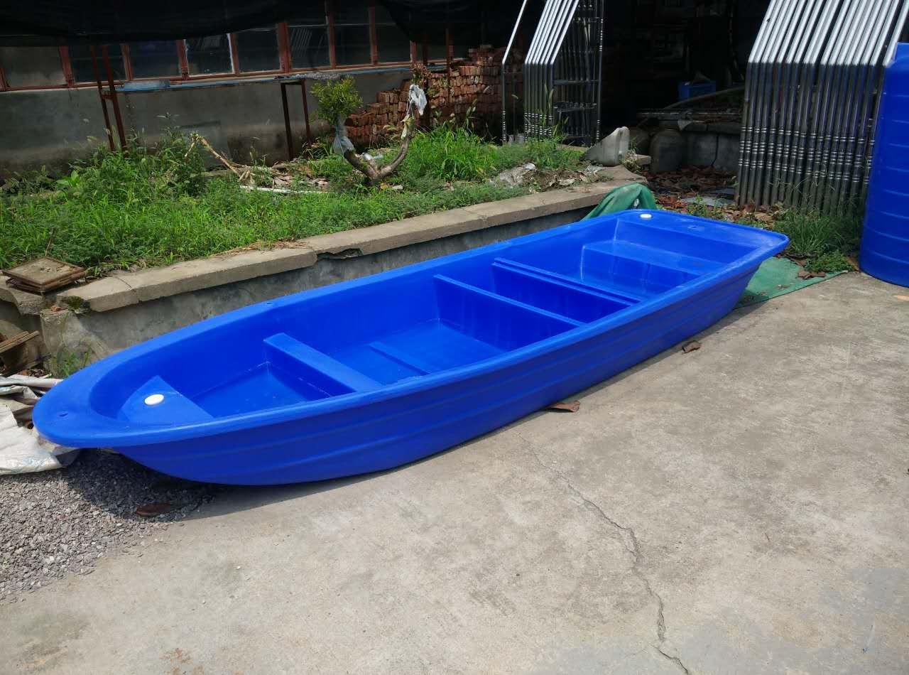 塑料船生产厂家 批发小船养殖船 耐撞击3.6米钓鱼船