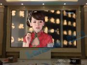 售楼大厅P2.5高清LED全彩背景墙显示屏价格