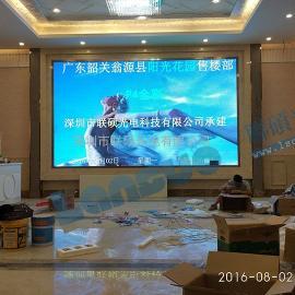 售楼部LED电子大屏幕18平方P3全彩显示屏包安装价格