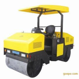 鸡年质量稳定的驾驶型三吨压路机 双钢轮压实机3吨震动压路机