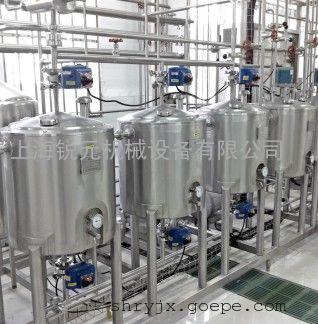 中小试果汁饮料生产线-果粒饮料研发生产设备