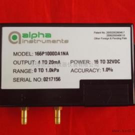 alpha instruments MODEL166微差压传感器,差压变送器