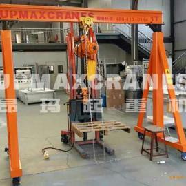 北京运营龙门叉车优质龙门吊厂家零售小吃水运营龙门吊