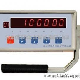 峰值显示器,XK3101称重仪表,250T柱式荷重传感器