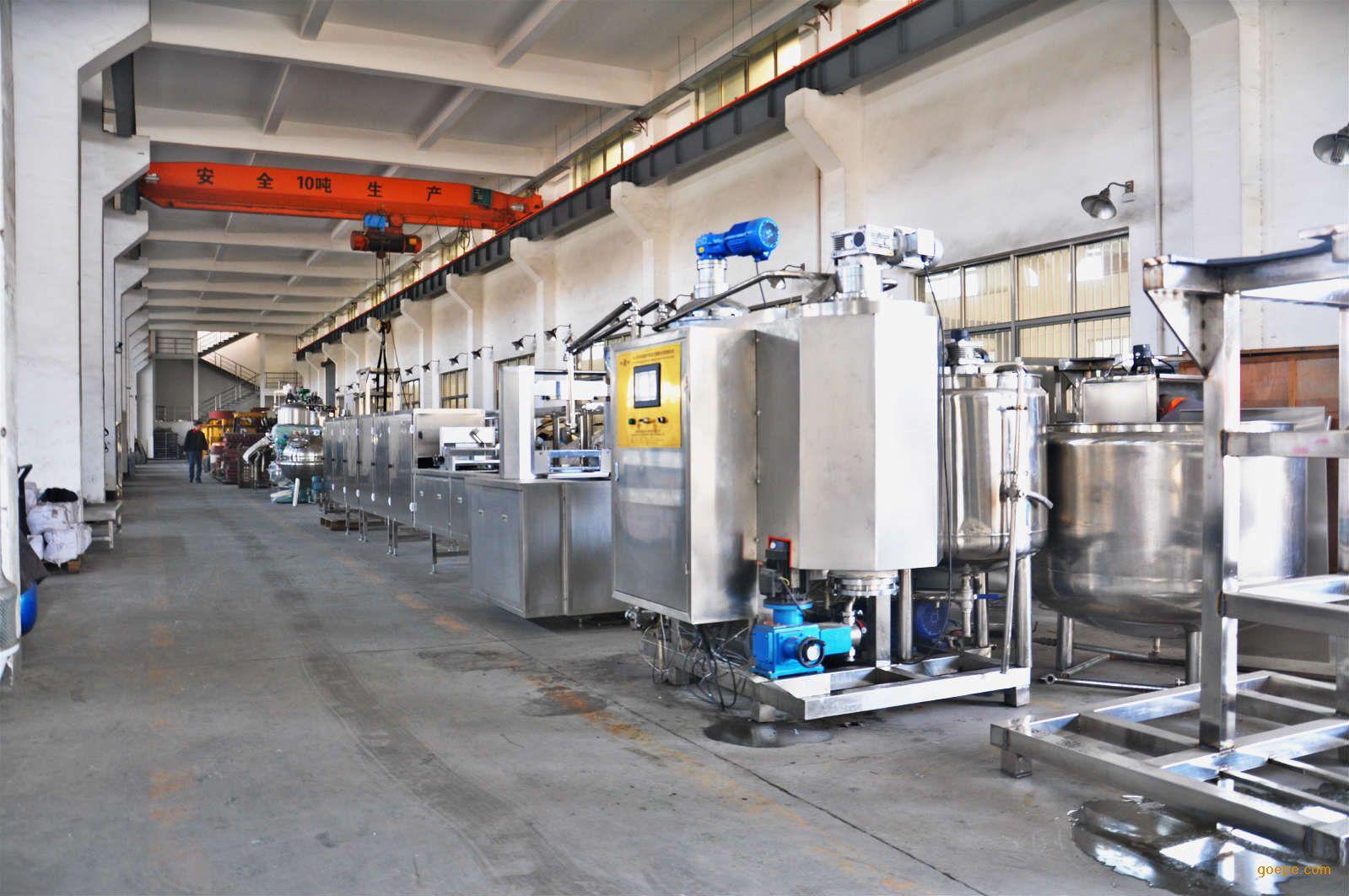 SE-450型全自动软糖生产线全自动软糖浇注生产线