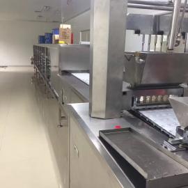 SE-100型全自动块状红糖生产线全自动红糖浇注生产线