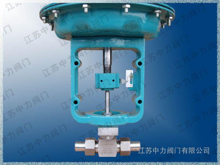 不锈钢J621Y高压气动截止阀