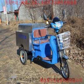 直销德利泰不锈钢保洁车城市垃圾清运优惠促销