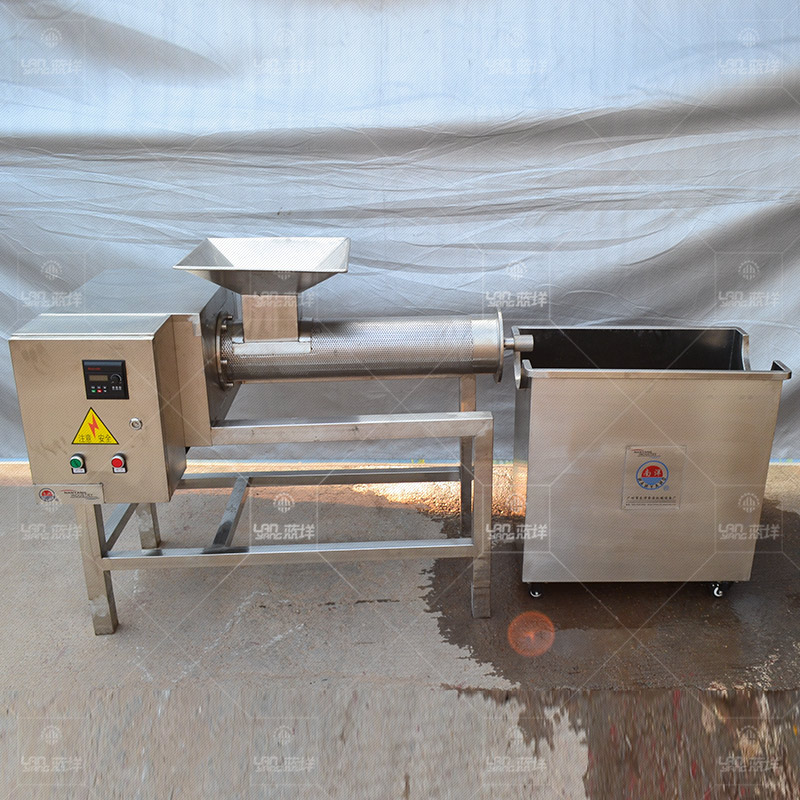 广州蓝�� 螺旋不锈钢蜂蜜榨汁机 果蔬榨汁机 致富机械 厂家直销