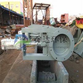 吉林省400*400不锈钢电动插板阀 方口手动闸板阀现货