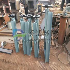 不锈钢电动插板阀 专业制作电动插板阀 闸板阀