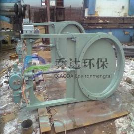 供应手动插板阀DN300耐磨通风闸阀碳钢厂家直销定制