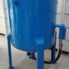 沈阳直径800容积0.6立方喷砂罐