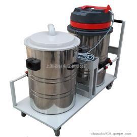 大型仓库水泥地面吸灰尘吸尘器工业用双桶强力吸尘器