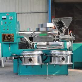 中豫瑞光小型花生榨油机为二级压榨