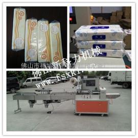 软抽商务用纸巾包装机,枕式佛山厂家抽纸包装机