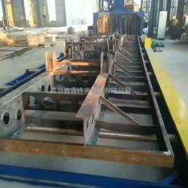 钢管抛丸机、喷砂机、钢管内壁抛丸机、通过式抛丸机、悬链式抛丸