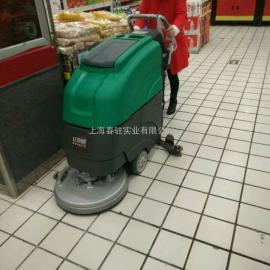 南京工业厂房用洗地机 手推式电动洗地机 超市物业用洗地机