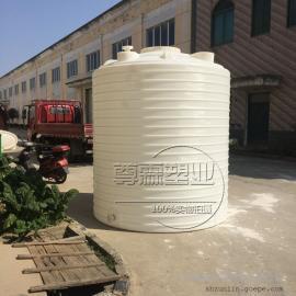 全新8000L塑料水箱 8立方水塔 8吨PE储罐