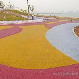 透水混凝土 彩色透水地坪 增强剂