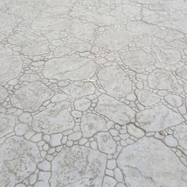 压模路面 彩色混凝土压模 水泥压膜地坪