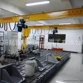 厂家定制欧式500kg1t2t3t悬臂吊360度旋转叉车
