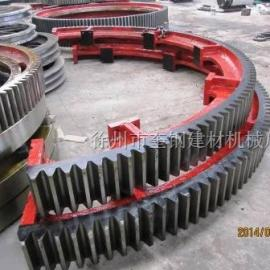 奎钢3.0X20米铸钢销子型烘干机大齿轮