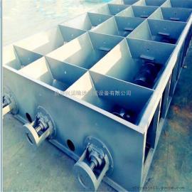 直销铸石板刮板输送机,水平埋刮板上料机,刮板输送机价格